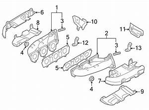 2013 Audi Q7 Exhaust Manifold  Gas  Cylinders  Cylinder