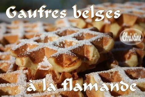 pate a gaufre belge gaufres belges 224 la flamande paperblog