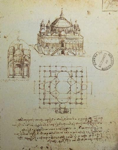 Leonardo Da Vinci Architecture Sketches