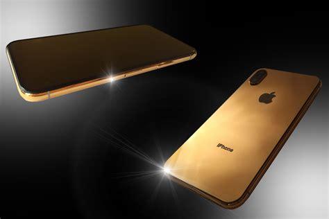 Stuart Hughes 24ct Gold Iphone Xs