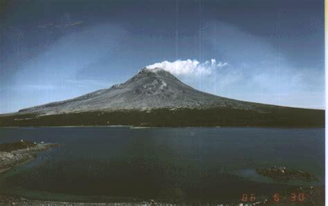 st augustine volcano alaska composite cone photograph