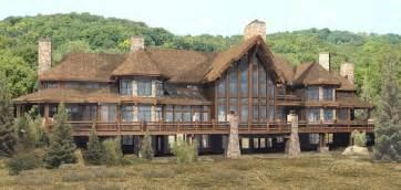 large log home floor plans pendleton estate log homes cabins and log home floor