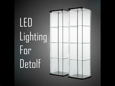 detolf display cabinet lighting detolf videolike