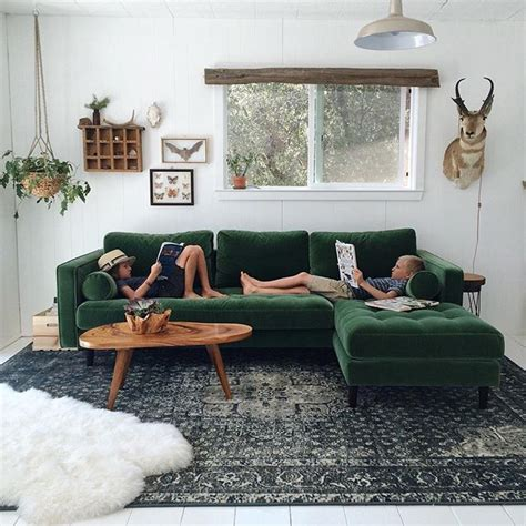 Best 25+ Green Sofa Ideas On Pinterest  Emerald Green