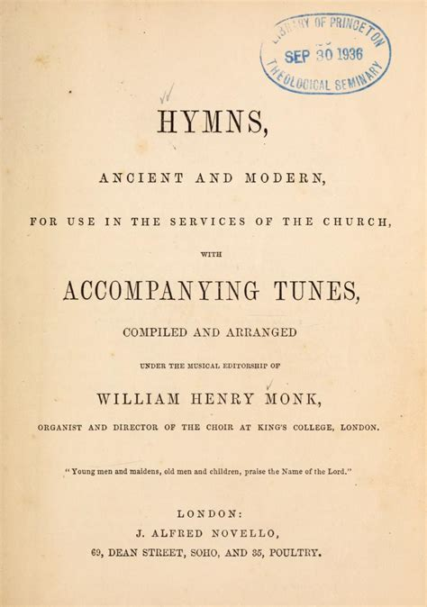hymns ancient  modern wikipedia
