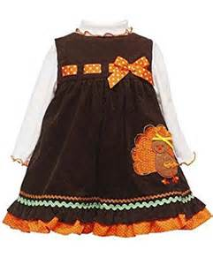 editions baby thanksgiving turkey corduroy jumper dress brown 24 months