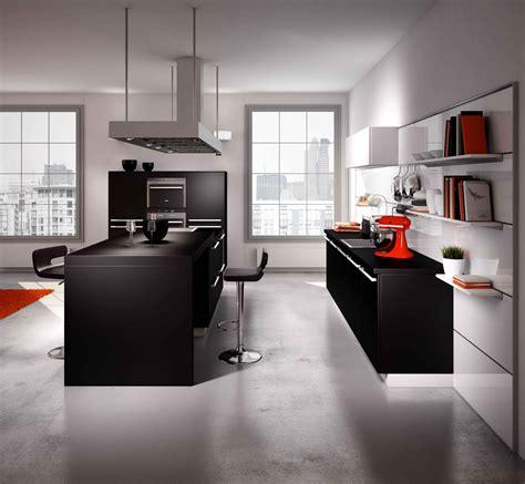 cuisine pratique et fonctionnelle cuisine ouverte sur le salon pratique et conviviale