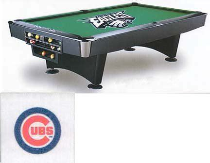 chicago cubs table l chicago cubs pool table cover cubs billiards table cover