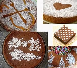 Décorer Un Gateau Au Chocolat : d coration des g teaux avec du sucre glace ~ Melissatoandfro.com Idées de Décoration