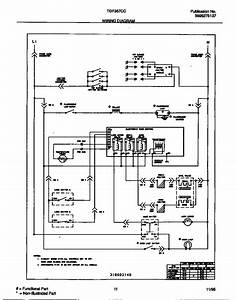 Wiring Diagram Diagram  U0026 Parts List For Model Tgf357ccsb