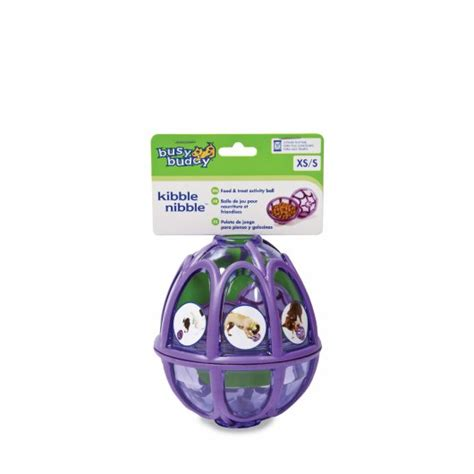 He goes crazy for them and begs for these treats like no other. Busy Buddy Kibble Nibble Feeder Ball (Busy Buddy-04) | Toys | Vital Pet Trade Specialists