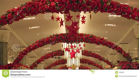 christmas store decoration royalty  stock photography