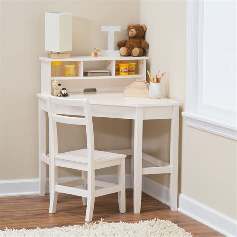 kids desk with hutch classic playtime juvenile corner desk and reversible hutch