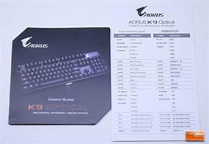 Aorus K9 Optical Mechanical Keyboard Review