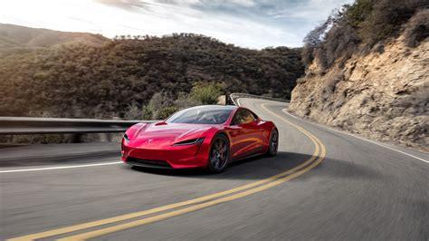 Tesla Roadster 4k Wallpaper