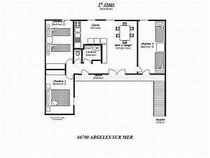 Escalier De Maison Interieur : plan de la maison 1er tage acc s par escalier ~ Zukunftsfamilie.com Idées de Décoration