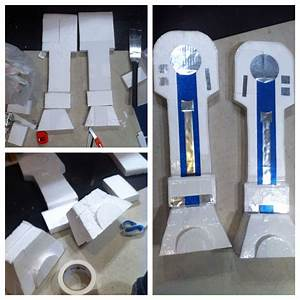 here39s how i made the legs for the r2d2 costume i used With r2d2 leg template