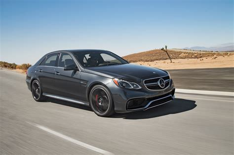 2018 Mercedes Benz E63 S Amg Front Three Quarter In Motion