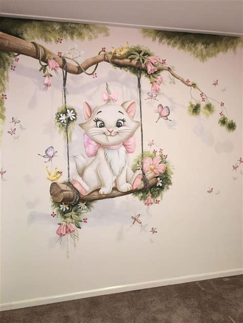 Wandgestaltung Kinderzimmer Bett by K 228 Tzchen Funktionswand F 252 R Kinderzimmer Blumen Garten