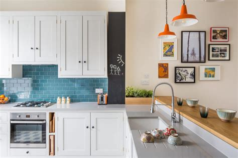 quirky retro style shaker kitchen sustainable kitchens
