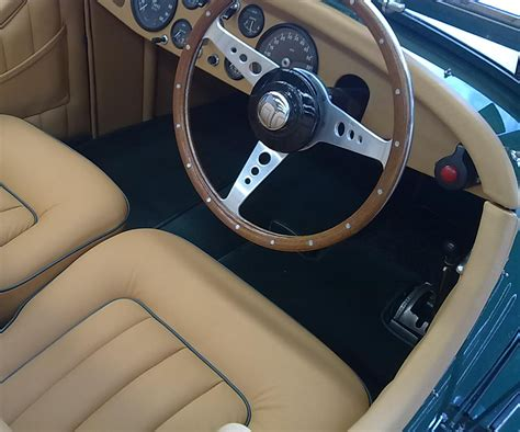 car interior leather upholstery restoration classic