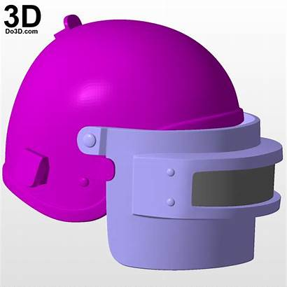 Battlegrounds Playerunknown Stl Helmet Printable Do3d Pubg