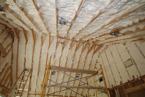 Insulating Cathedral Ceilings With Spray Foam by Services A1 Remodeling