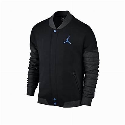 Varsity Jordan Jacket Air Manelsanchez Azul Negro