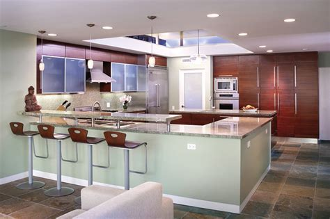 Encino Modern   Contemporary   Kitchen   los angeles   by