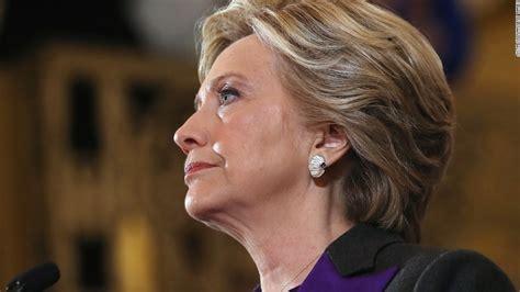 clinton concession speech hillary cnn rodham election lady trump president