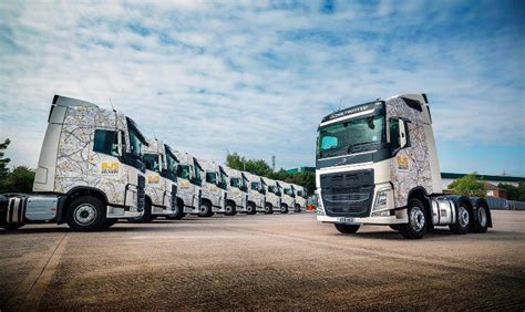 bjs home delivery adds  volvo fhs  fleet commercial
