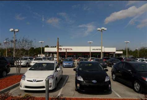 jacksonville toyota dealers arlington toyota jacksonville fl 32225 car dealership