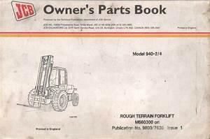 Jcb Rough Terrain Forklift 940