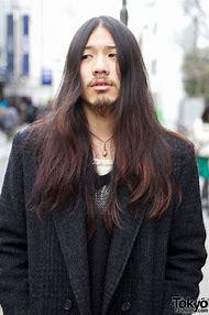 Japanese Guys with Long Hair