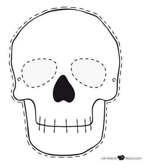 Máscara calavera Skeleton Party Dibujos de halloween