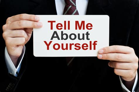 "How To Answer The ""tell Me About Yourself"" Interview"
