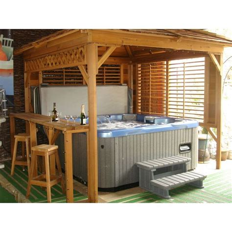 Now you need to consider what type of enclosure you will want. 31 best Hot Tub Privacy / Spa Enclosures images on Pinterest