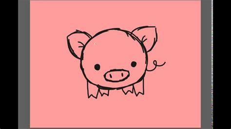 draw  cartoon piggy  youtube