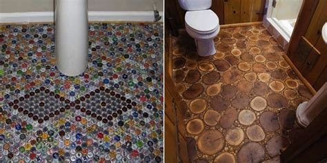 12 Unexpected DIY Flooring Alternatives   Home Design
