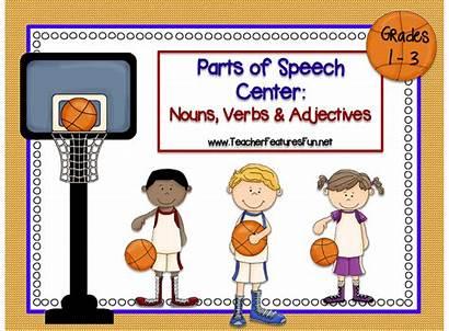 Basketball Speech Parts March Madness Nouns Verbs