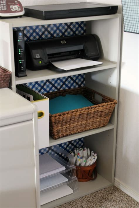 desk organization tips home office reveal one room challenge week 6 frazzled 14683