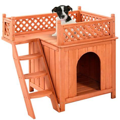 size bed wood casas para perros de madera