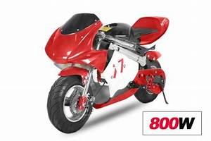 Mini Moto Electrique : course mini moto electrique racing 36 v 800 w att modele nitro ~ Melissatoandfro.com Idées de Décoration