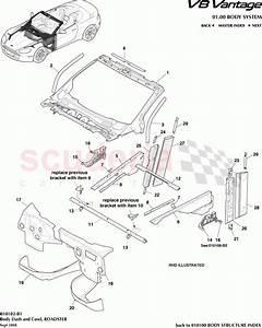 Aston Martin V8 Vantage Body Dash And Cowl  Roadster