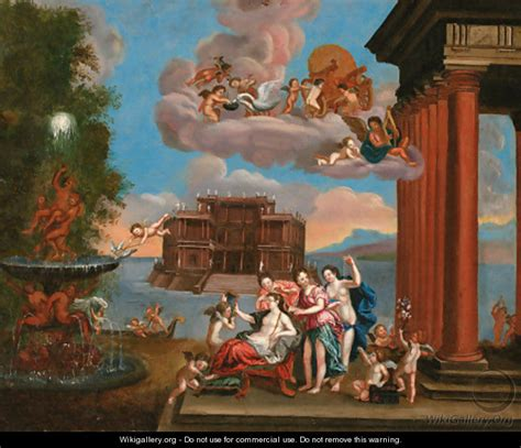 the toilet of venus the toilet of venus 2 after francesco albani wikigallery org the largest gallery in the world