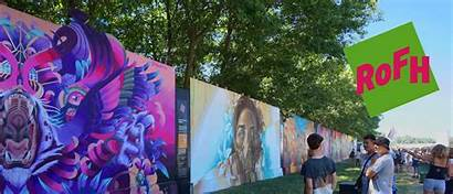 Festival Roskilde Graffiti Wall