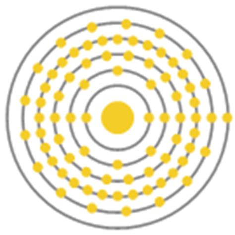 gold element bohr model