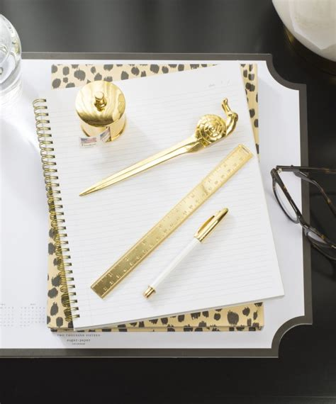 brass snail mail letter opener sugar paper new from sugar paper the paper chronicles 83959