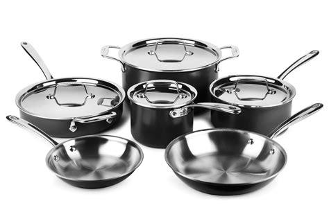 clad cookware ltd piece sets brand cutlery cutleryandmore