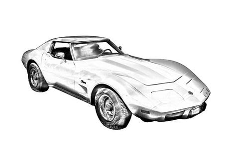 vintage corvette drawing pin by keith webber jr on classic and muscle car fine art